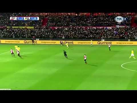 Feyenoord fans sing Liverpool anthem in tribute to Brad Jones' son