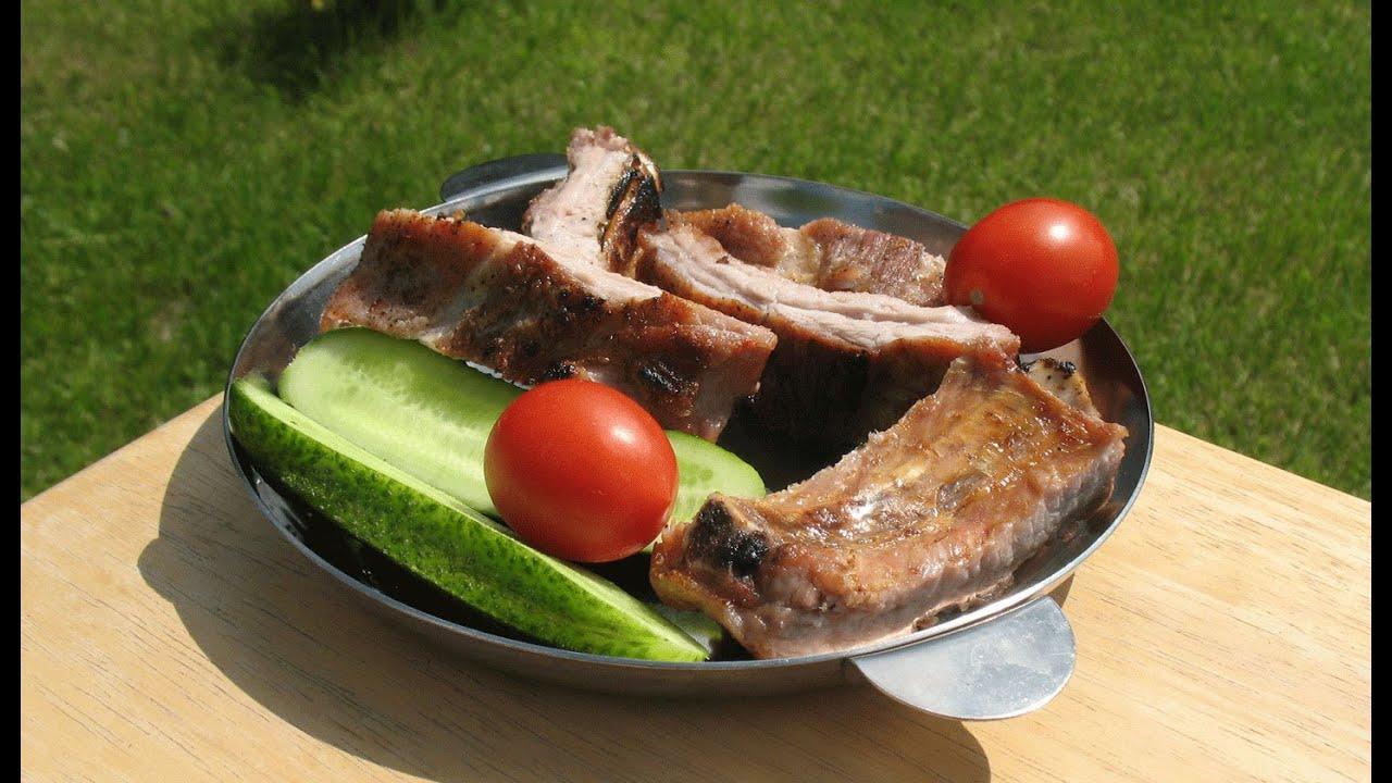 Свиные ребрышки простой и вкусный рецепт