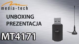 Media-Tech MT4171 Unboxing i Prezentacja tunera DVB-T USB