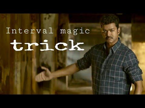 Mersal Movie Intervel Card Trick Magic Tuition