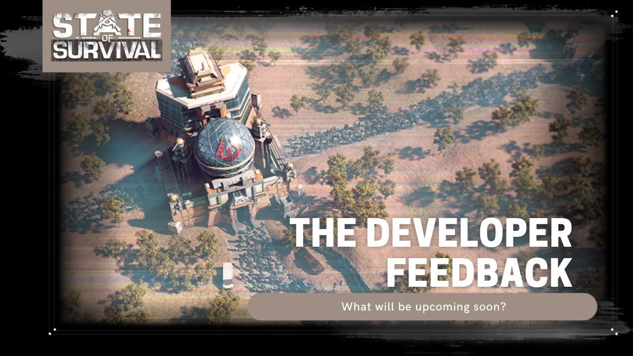Developer Feedback - Bring your coffee and hear the updates
