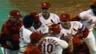 1982 NLCS Gm2: Cardinals win on Oberkfell