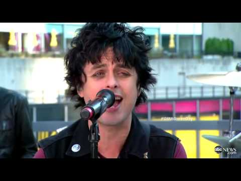 GREEN DAY - OH LOVE - Good Morning America