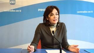 Partido Popular Segovia. Elecciones 20N. Beatriz Escudero sobre campaña y ETA 27/10/2011