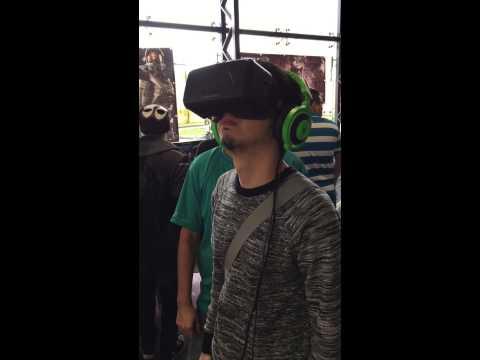 Probando el Oculus Rift