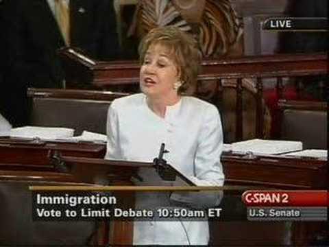 Elizabeth Dole On Immigration