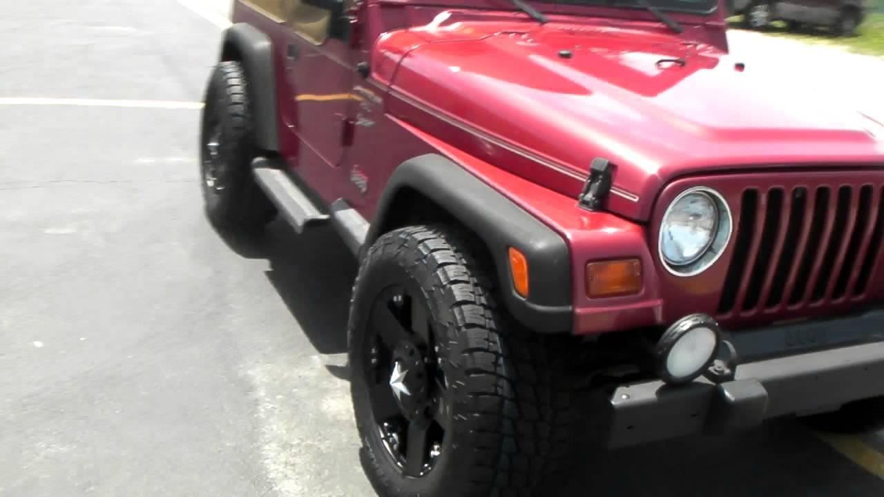 www.DUBSandTIRES.com 1999 Jeep Wrangler 18 Inch XD Series ...
