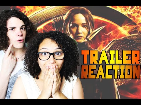 Trailer Reaction  ⎮ Hunger Games 3 part 2 -