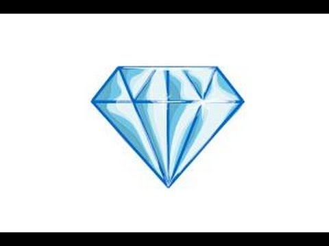 How to draw a diamond shape