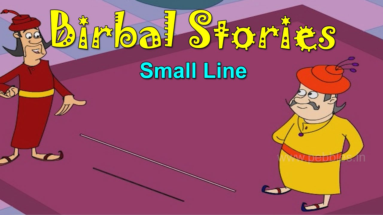 Small Line | Birbal Stories for Kids | Akbar & Birbal Stories for Children  HD