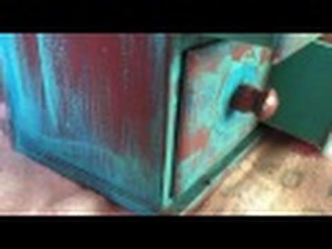 DIY, Metallic Copper Paint Technique