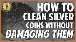 Cleaning Silver Coins