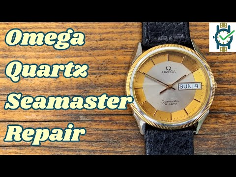 Omega Seamaster Quartz Repair