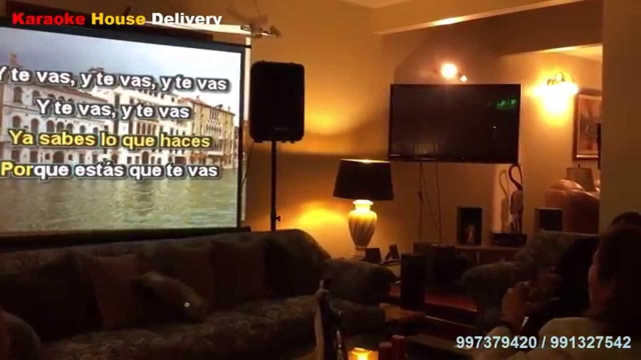 Karaoke house delivery en lima karaoke movil a tu casa no me amenaces youtube - Karaoke en casa ...