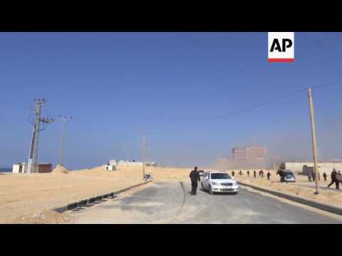 Israel targets Hamas sites after Gaza rocket attack