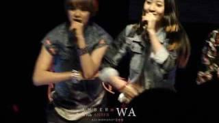 [Fancam]100514 JANGAN UNIVERSITY.Amber - Chu~