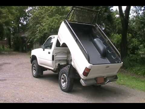 1989 Toyota Pickup Dump Bed Youtube