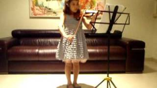 Home on the Range, violin