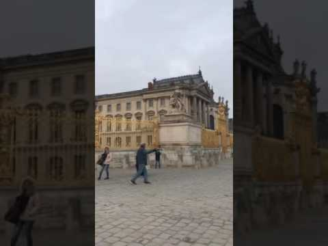 Outside the Palace of Versailles