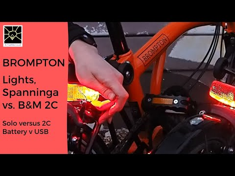 Rear Battery Lamp Light for Brompton Bicycle