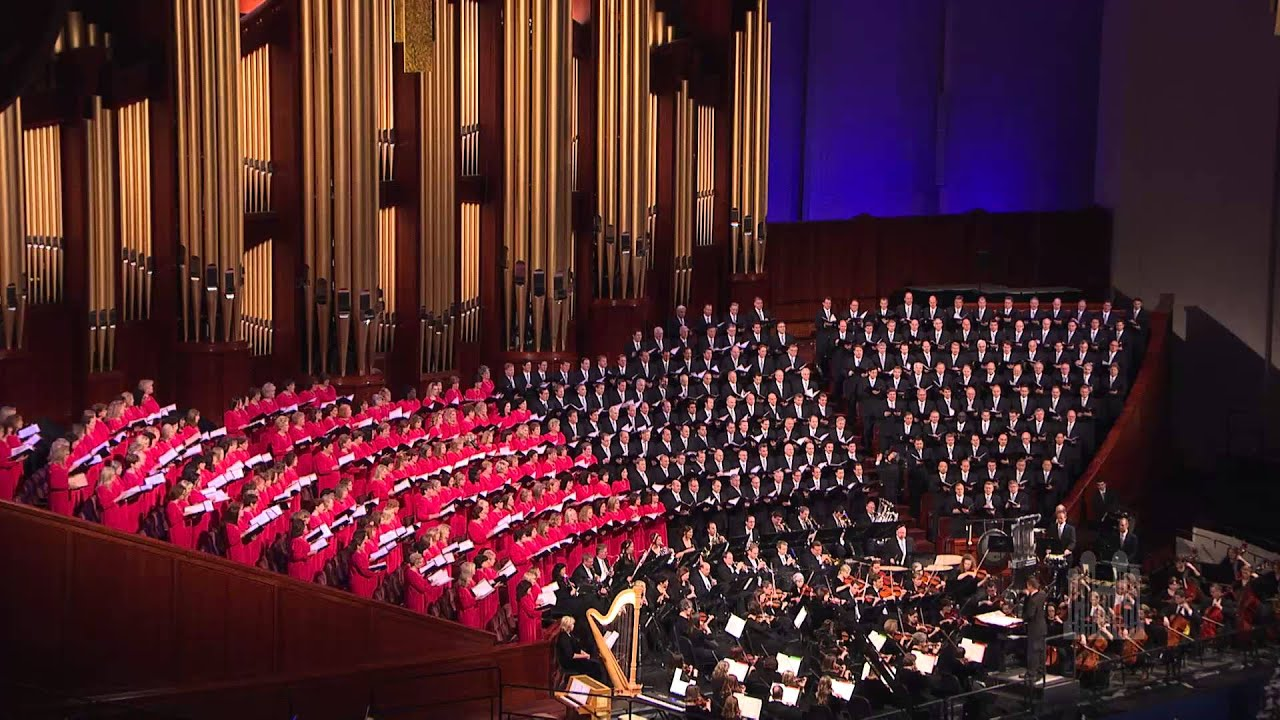 Hark! The Herald Angels Sing - Mormon Tabernacle Choir - YouTube