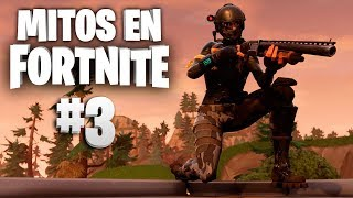 ¡Construcción en el límite! - Mitos Fortnite - Episodio 3 #MitosFortnite
