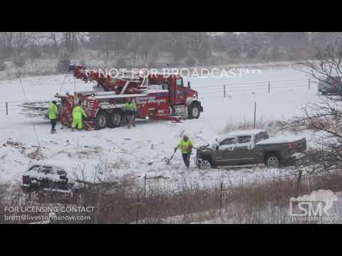 02-05-2018 Ames Iowa Car Wreck I-35 Shut Down-