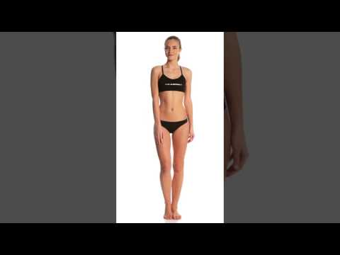 061b25b0c38621 Slix Australia Women's Back In Black Two Piece Bikini Set | SwimOutlet.com  - YouTube