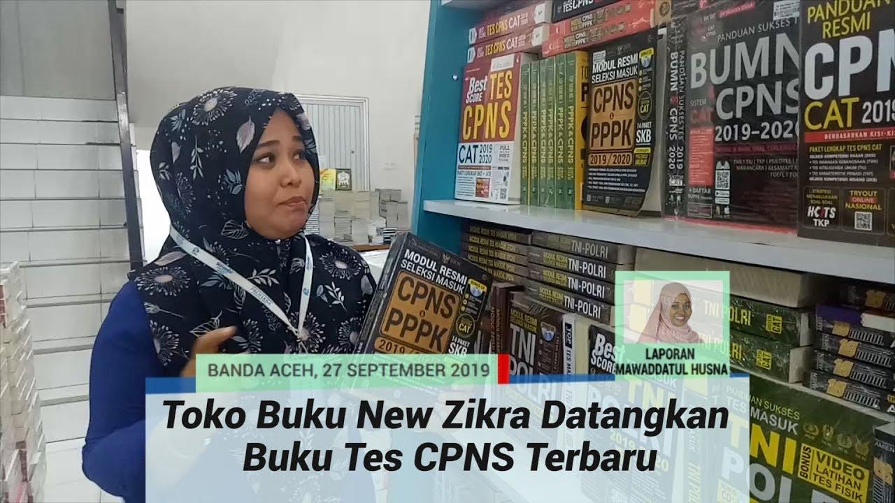 Toko Buku New Zikra Banda Aceh Datangkan Buku Tes Cpns Terbaru Youtube