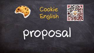 Proposal   Pronunciation, Paraphrase, Listen & Practice