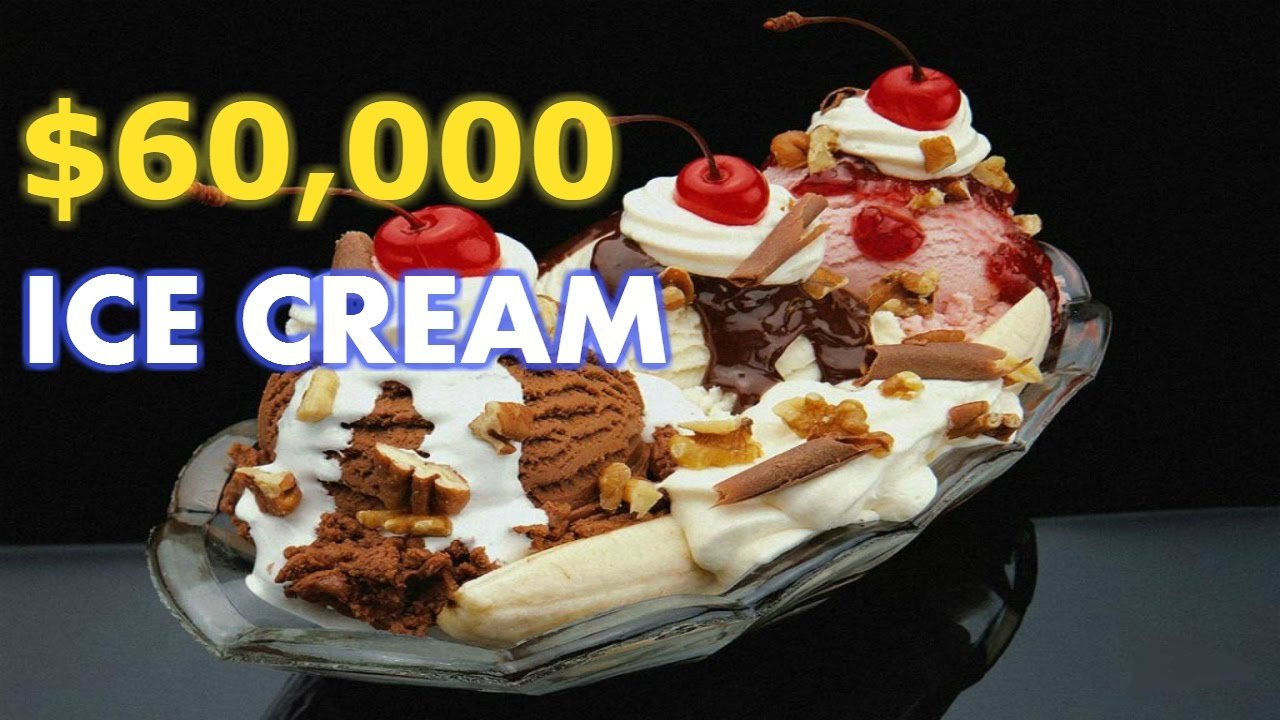 Most Expensive Ice Cream