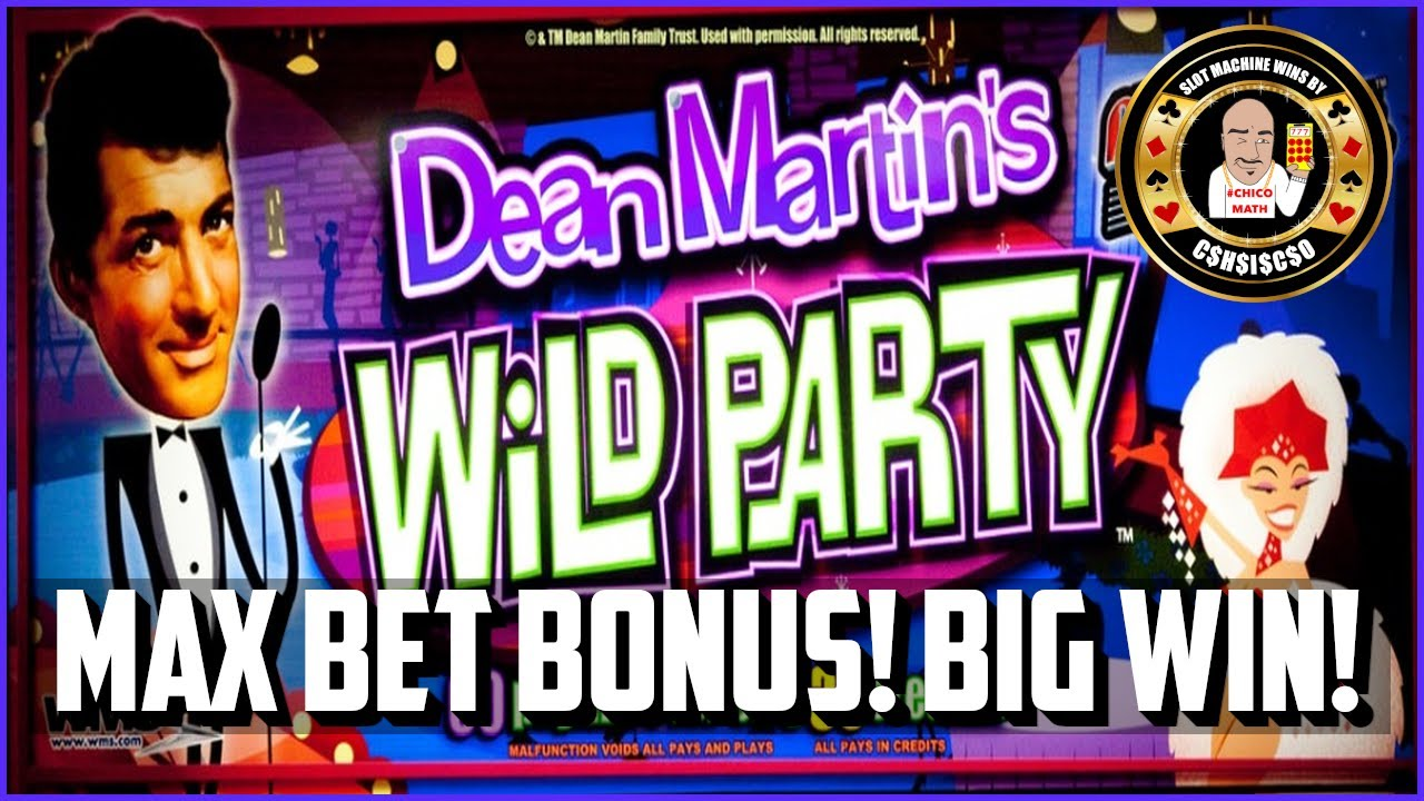 Dean martin wild party slots free