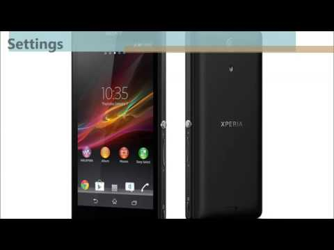 Sony Xperia ZR forgot pattern or password