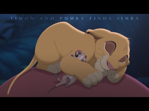 The Lion King 3 - Timon and Pumba finds Simba (HD)