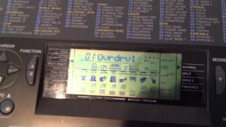 Yamaha PSR 320 Demo 1