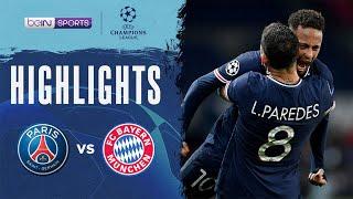 PSG 0-1 Bayern Munich   Champions League 20/21 Match Highlights