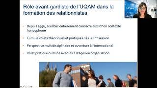 Baccalauréat en communication (relations publiques) : au cœur du dialogue entre les organisations et leurs publics