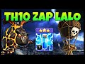 Gambar cover Th10 Zap LaLo: ⭐⭐⭐ Th10 Zap LavaLoon War Attack Strategy 2020 | Clash of Clans - Coc
