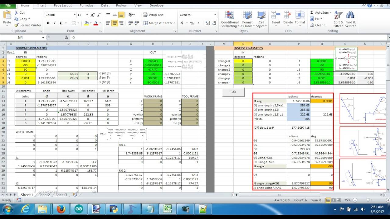 Excel v kuka