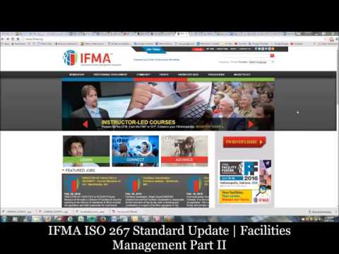 IFMA Update on US TAG for ISO 267 Facilities Management Standard | Part 2 of 2