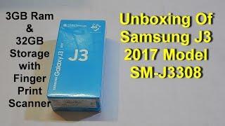Galaxy J3 2017 SM J3308 Unboxing