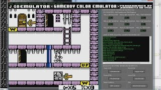 The Bugs Bunny Crazy Castle II DX (V1.1) (Color Hack) [U] 「J_GB GAME BOY COLOR JAVA EMULATOR」