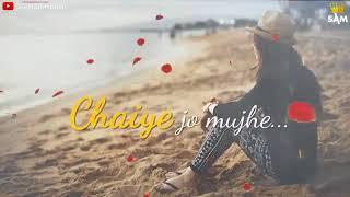 Jeete rahe saltanat Teri | true love story| WhatsApp status
