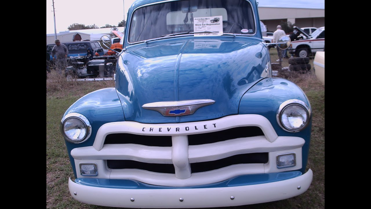 1955 Chevy Half Ton Pickup Truck Blu Sumtrfg030412 Youtube 1951 Chevrolet Paint Colors