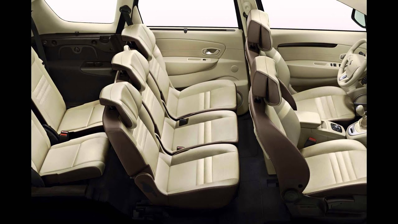 2016 renault grand scenic interior youtube. Black Bedroom Furniture Sets. Home Design Ideas