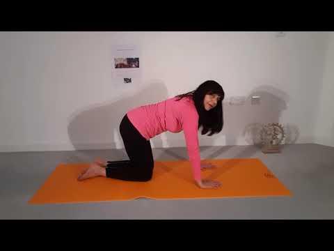 Cobra Shakti flow to awaken inner energy and strengthen up spine