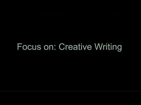 International Summer Programmes: Focus on Creative Writing