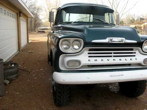 1958 Apache Truck MyRod furthermore Vintage Chevy Engines For Sale moreover Chevy Apache Fleetside Pickup For Sale additionally Phim Video Clip Nap 20co in addition Napco 4x4 Trucks For Sale. on 1959 chevy napco 4x4 truck for sale
