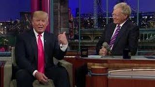 Donald Trump on David Letterman talks about MLM