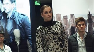 DKNY Fall/Winter 2012-13 In-Store Fashion Show in Beijing | FashionTV CHINA Thumbnail